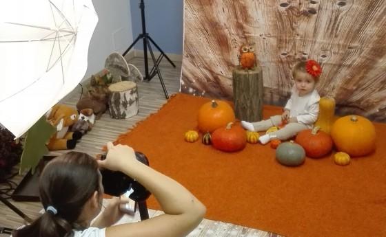 Autumn photoshoot u nás v škôlke